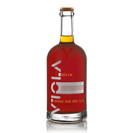 BIRRA VIOLA ROSSA RED ALE 6,6% 75CL