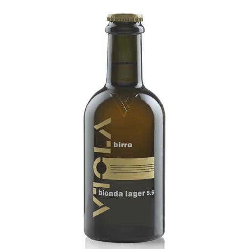 BIRRA VIOLA BIONDA LAGER 5,6% 35,5CL